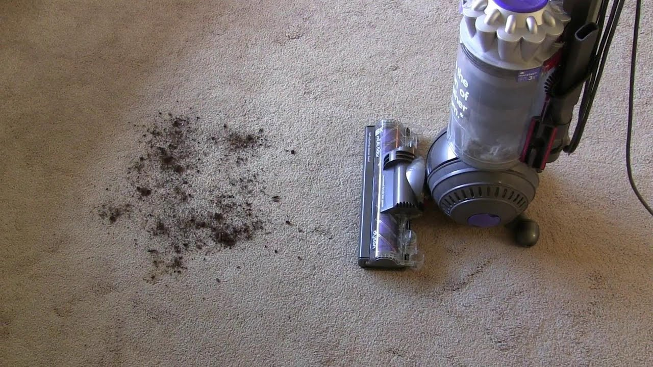 the suction monster, dyson vacuum dc65. - youtube
