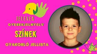 Jeleven online - GYAKORLÓ JELLISTA - TALÁLD KI! - Színek témakör 1.