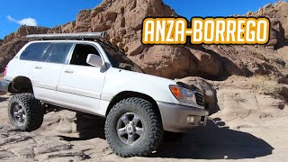Trail highlights: overland aฑd camping in Anza Borrego October 2020