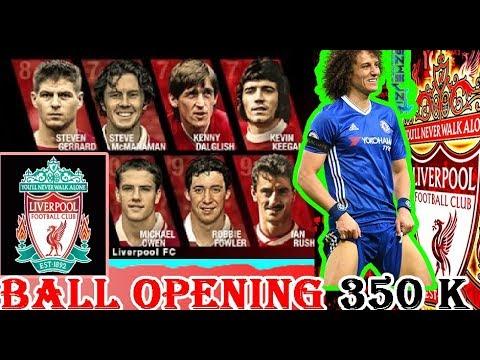 PES 2018 | BALL OPENING | LEYENDAS DEL LIVERPOOL | 350 K