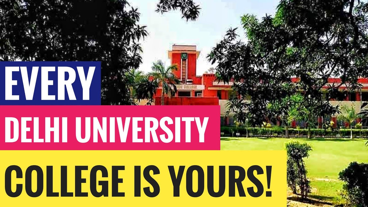 How To Study In Any Delhi University College? | A DU Success Story