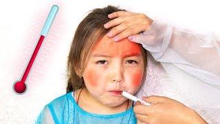 Sick Song Nursery Rhymes | Kinderlieder