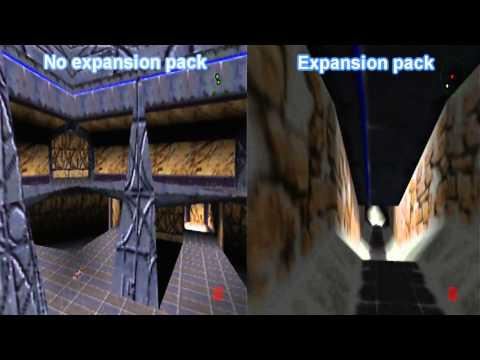 Perfect dark- Expansion pack comparison