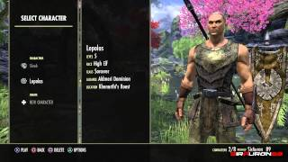 The Elder Scrolls Online - PS4 - Introduzione al gioco e Consigli Creazione Personaggio