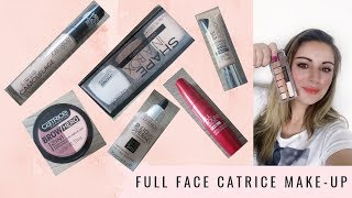 FULL FACE CATRICE MAKE-UP TUTORIAL