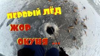 ПЕРВЫЙ ЛЁД 2017-2018    70 ОКУНЕЙ !!!   ЗИМНЯЯ РЫБАЛКА   НОВЫЙ КОНКУРС !!!