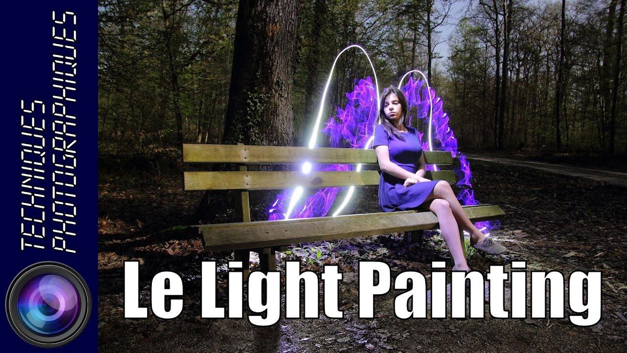 comment faire du light painting