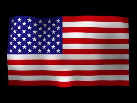 Free American Flag 4K Motion Loop Stock Video