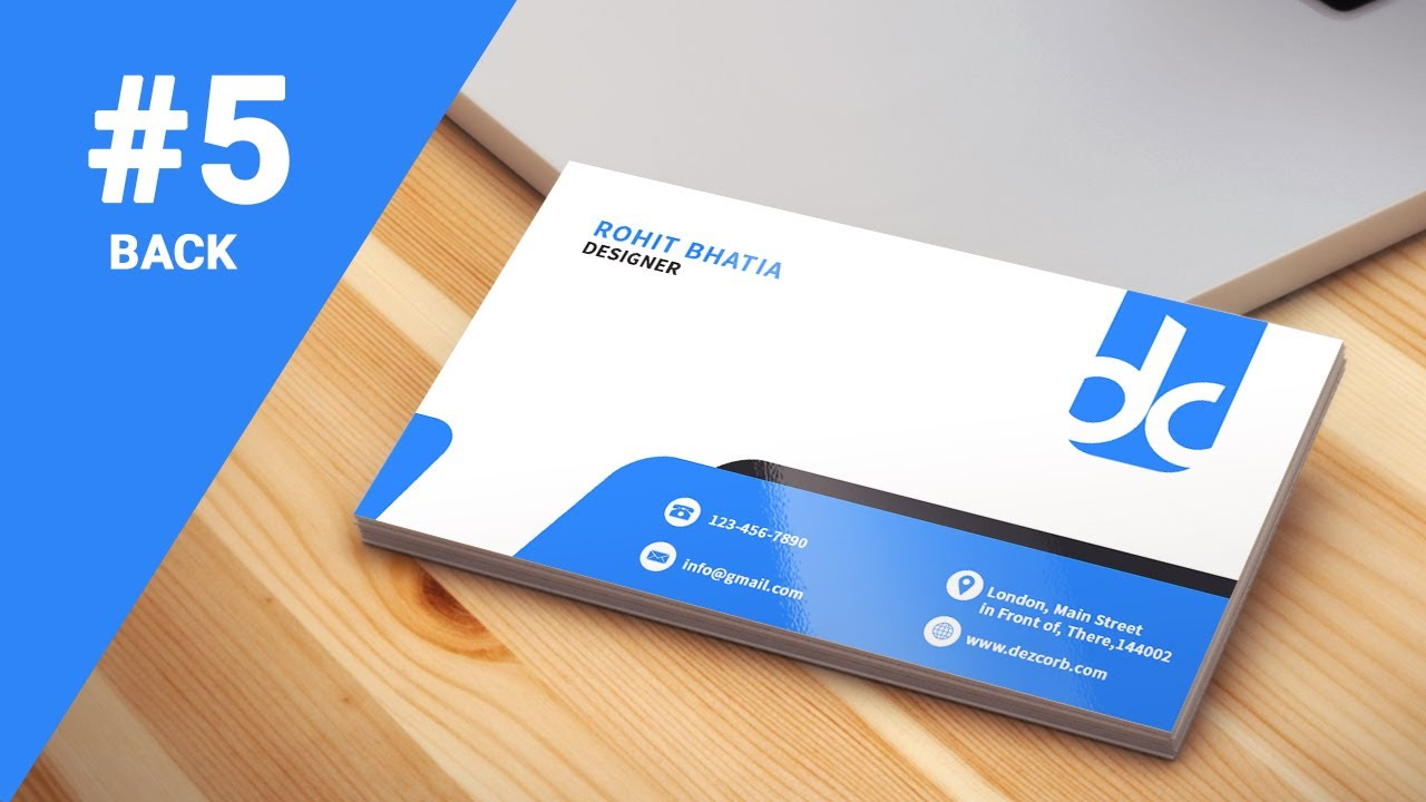 5 how to design business cards in photoshop cs6 | Professional ...