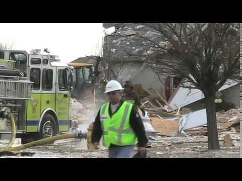 Home explodes in Pontoon Beach
