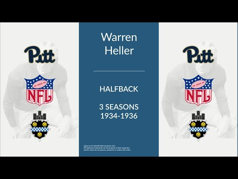 Warren Heller: Football Halfback and Quarterback
