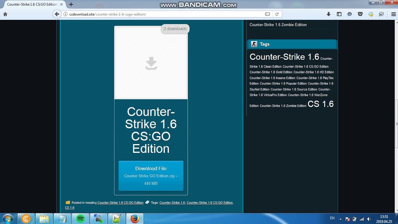 download dedicated server cs 1.6