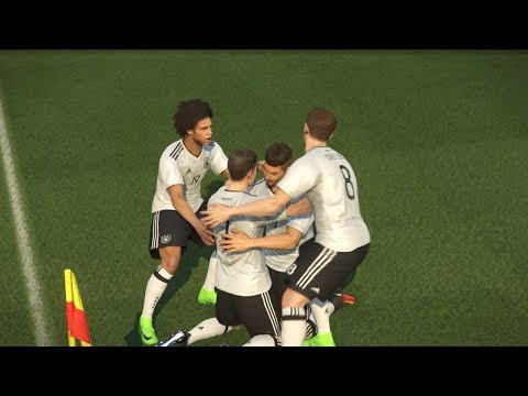 PES 2017 FIFA Confederations Cup 2017 Final (Germany vs Portugal Gameplay)