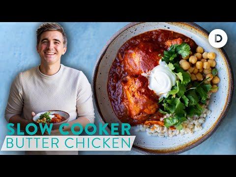 RECIPE: SLOW COOKER Butter Chicken!