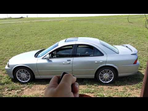Lincoln LS All Windows Down Feature