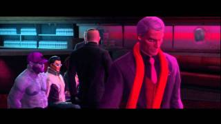 2 Saints Row the Third Zombie Hardcore Walkthrough PS3 HD (Character Creation/Free Fallin' 1/2)