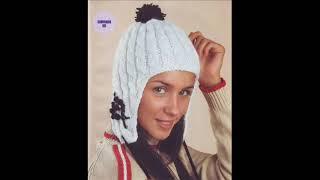 вязание шапок для девочек