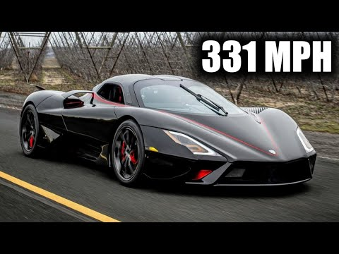 331 MPH SSC Tuatara Captures Top Speed Production Car Record