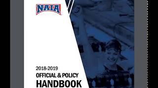 Official & Policy Handbook - NAIA