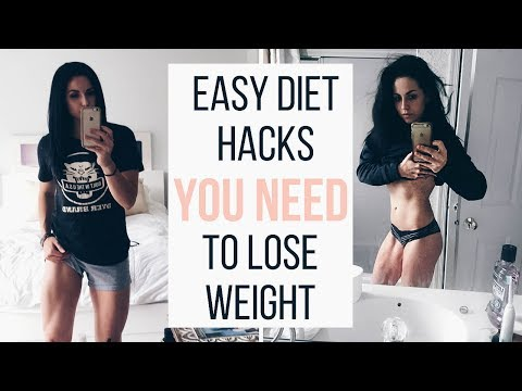 QUICKEST WEIGHT LOSS HACKS | HOW TO DIET | PART 1