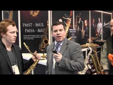 Hyson Music Presents Adam Larson at P. Mauriat  NAMM 2012