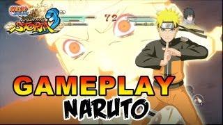 Naruto Shippuden Ultimate Ninja Storm 3 - X360 / PS3 - Naruto Gameplay