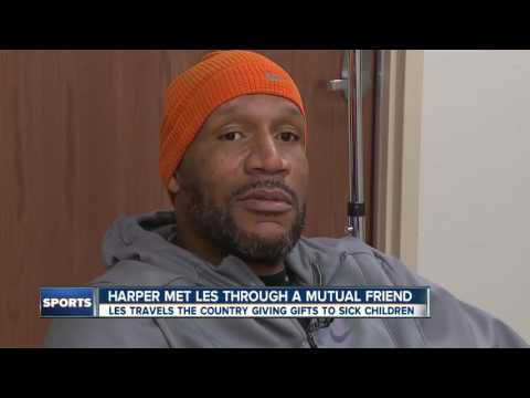 NBA champion Ron Harper does things Mikey