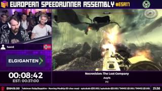 #ESA17 Speedruns - Necrovision: The Lost Company [Any%] by havrd