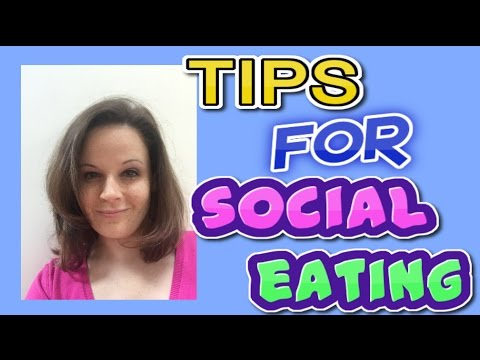 I can t eat in front of people - tips for social eating from YouTube · Duration:  9 minutes 25 seconds
