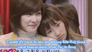 SNSD Tiffany & Taeyeon   TaeNy's messages in phuket photobook 2011