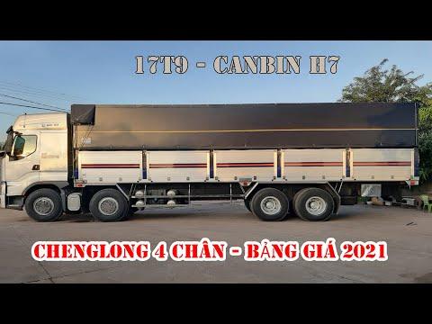 Đánh giá xe tải ChengLong 4 chân , cabin H7 mới nhất 2021   Bảng giá xe chenglong.