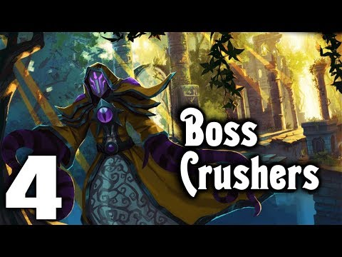MORE PERKS! - Let's Play BOSS CRUSHERS Gameplay Part 4 (Diablo meets Roguelite Twin Stick Shooter)