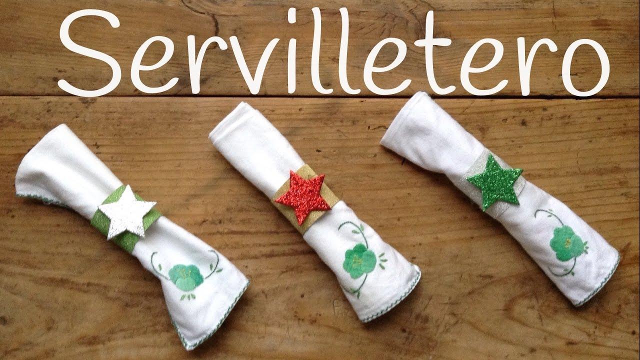 Servilleteros con material reciclable brillantes - Manualidades ninos navidad ...