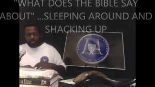 "WHAT DOES THE BIBLE SAY ABOUT..... ""SLEEPING AROUND AND SHACKING UP"""