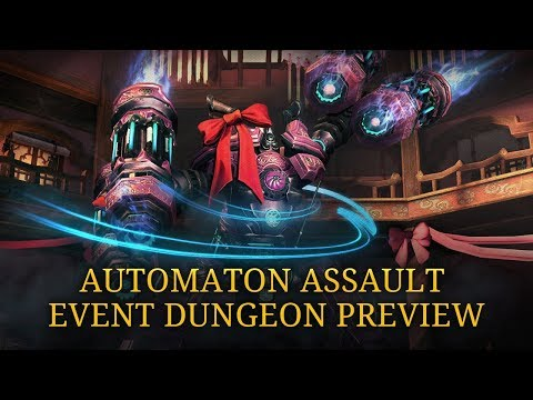 Blade & Soul: Automaton Assault Event Dungeon Preview