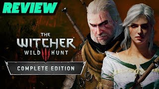 The Witcher 3: Wild Hunt Complete Edition For Switch Review (Video Game Video Review)
