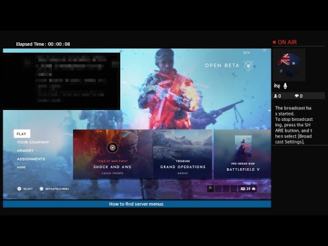 BFV How to find\fix server menus with your region
