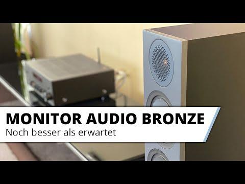 Vorstellung: Die neuen Monitor Audio Bronze Lautsprecher - Noch besser als erwartet
