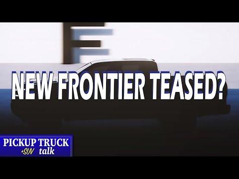 Wider? Longer? 2021 Nissan Frontier Next-Gen Teased
