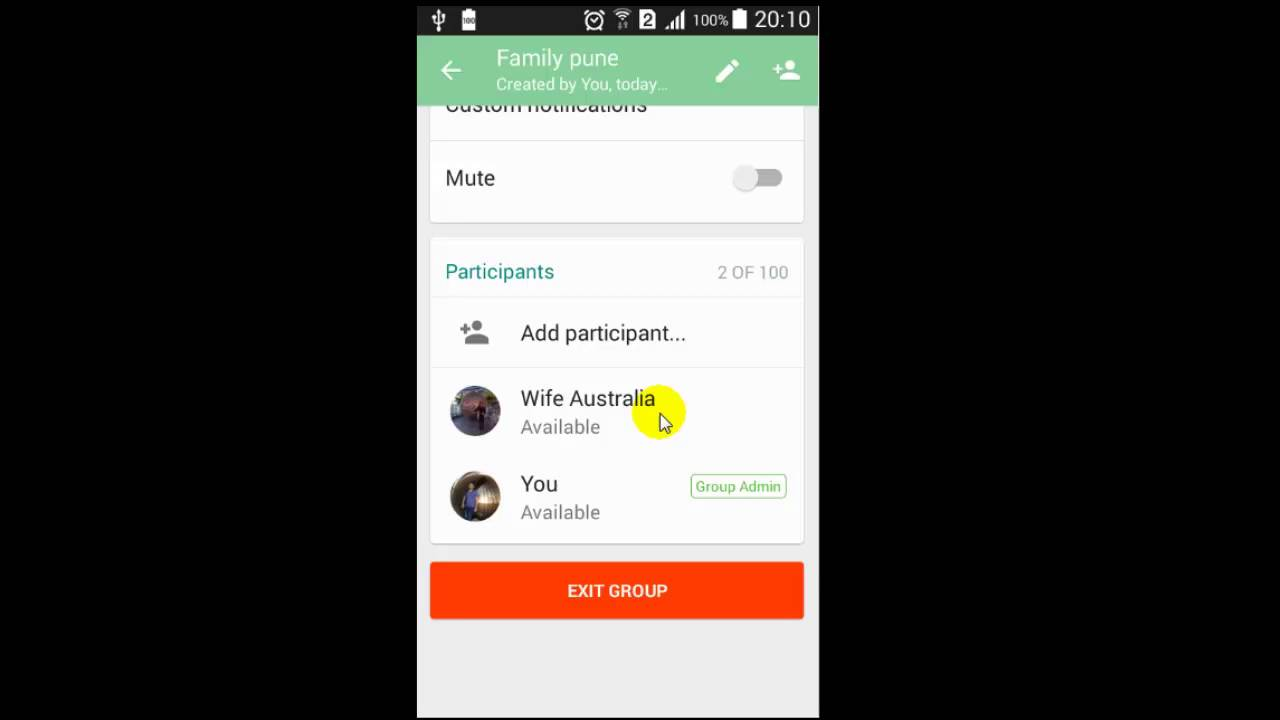 How to make someone the admin of Whatsapp group