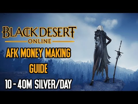 Black Desert Online - AFK Money Making Guide 10-40 M Silver/Day