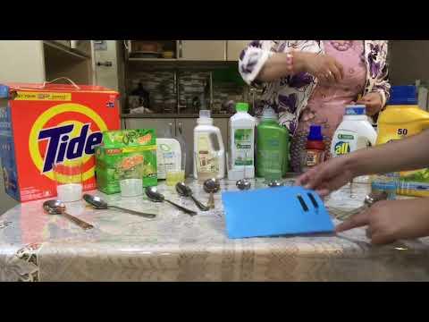Тестирование на фосфаты и PH стиральных порошков 10 фирм и Greenleaf