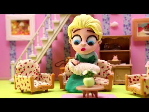 Masha and the Bear Stacking Cups Surprise Egg Play Doh ...
