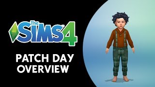 The Sims 4 Patch Day Overview (NEW CAS ITEMS,MULTI-STORY COLUMNS, AND MORE!)