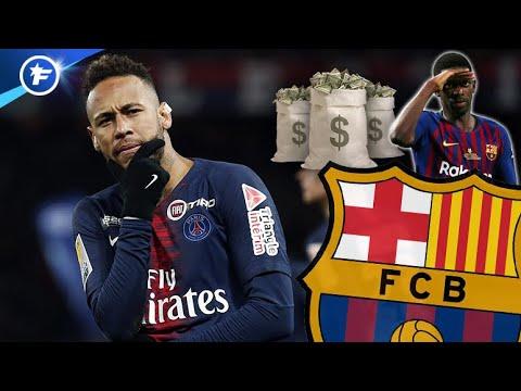 Les 3 conditions au retour de Neymar au Barça   Revue de presse