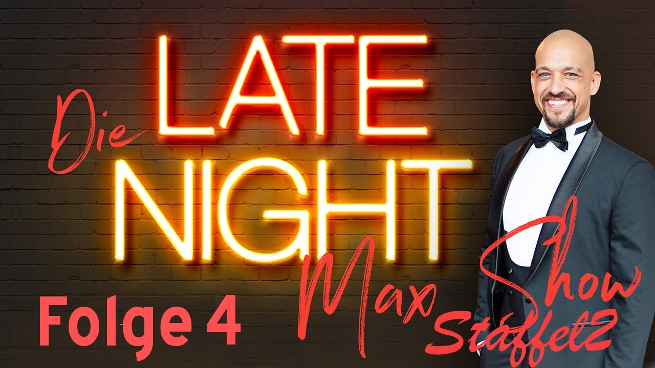 Jeannine bei der Late Night Max Show