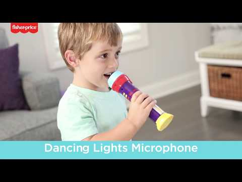 Fisher-Price™ Dancing Lights Microphone Musical Toy