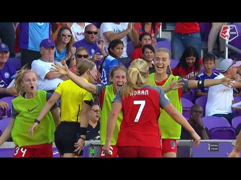 #NWSLChampionship | Lindsey Horan's goal in slow motion | Portland Thorns FC