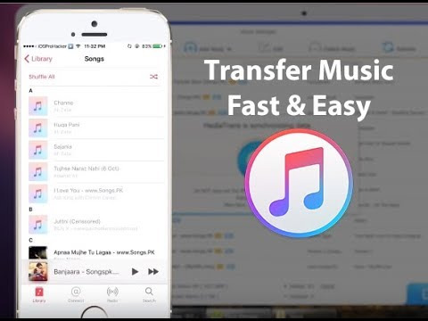 how to put music on itunes without computer