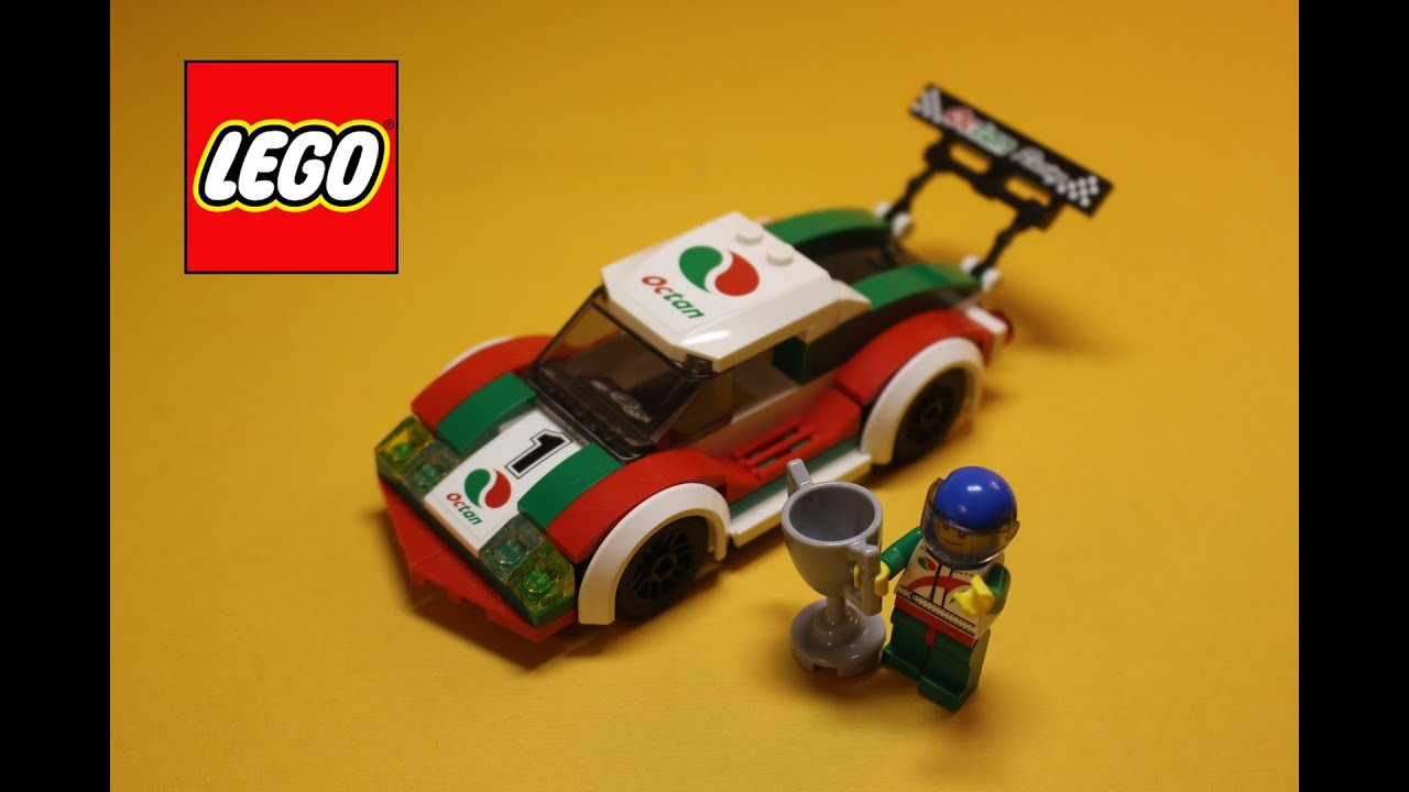 lego city 60053 race car lego fast build youtube. Black Bedroom Furniture Sets. Home Design Ideas